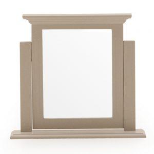 vanity mirror taupe