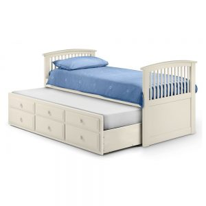 stone white pull out bed storage extra
