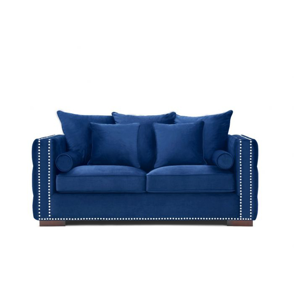 Moscow 2 Seater Royal Blue Velvet