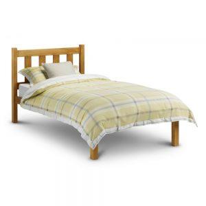 bed single wooden kids