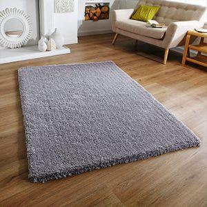 grey soft fluffy super rug uk ireland