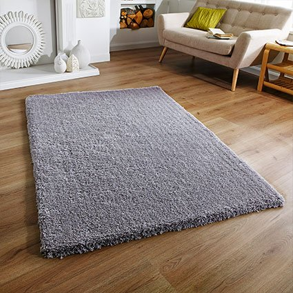 grey soft fluffy super rug uk ireland