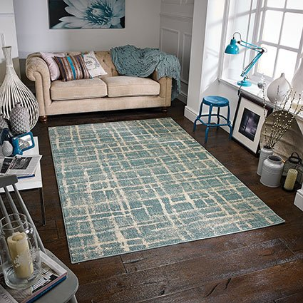 rugs design blue pattern