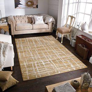 yellow pattern rugs