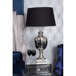 nickel parma black lamp