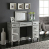 silver diamante glitter diamond dressing table