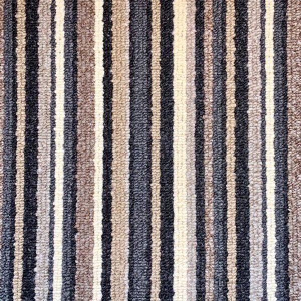 blue navy stripe carpet