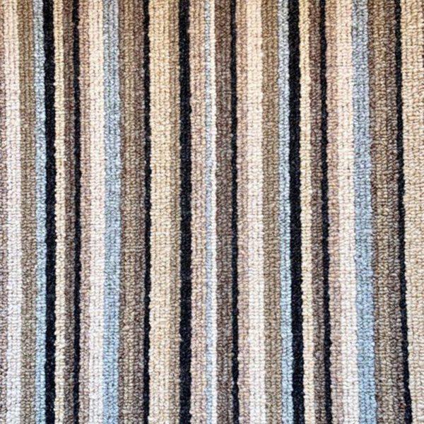 teal stripe carpet