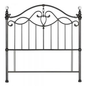 black nickel headboard
