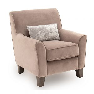 accent chair taupe