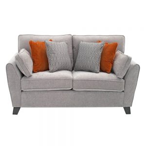 2 seater silver