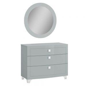 dresser chest mirror