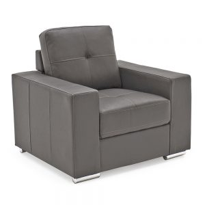 greyleather sofa
