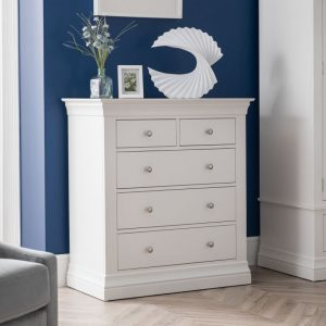 french design white drawer chest bedroom