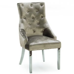knockerback chair dining champagne