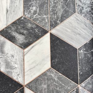 grey black white gold marble vinyl flooring