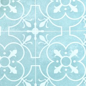 mint green pale light mosaic tile vinyl