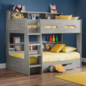 orion grey oak bunk bed kids beds