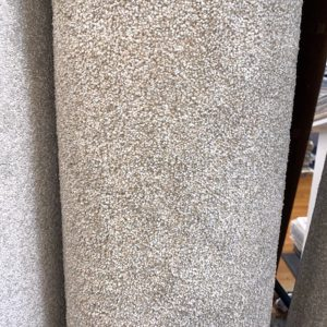 carpet saxony fawn beige remnant roll end